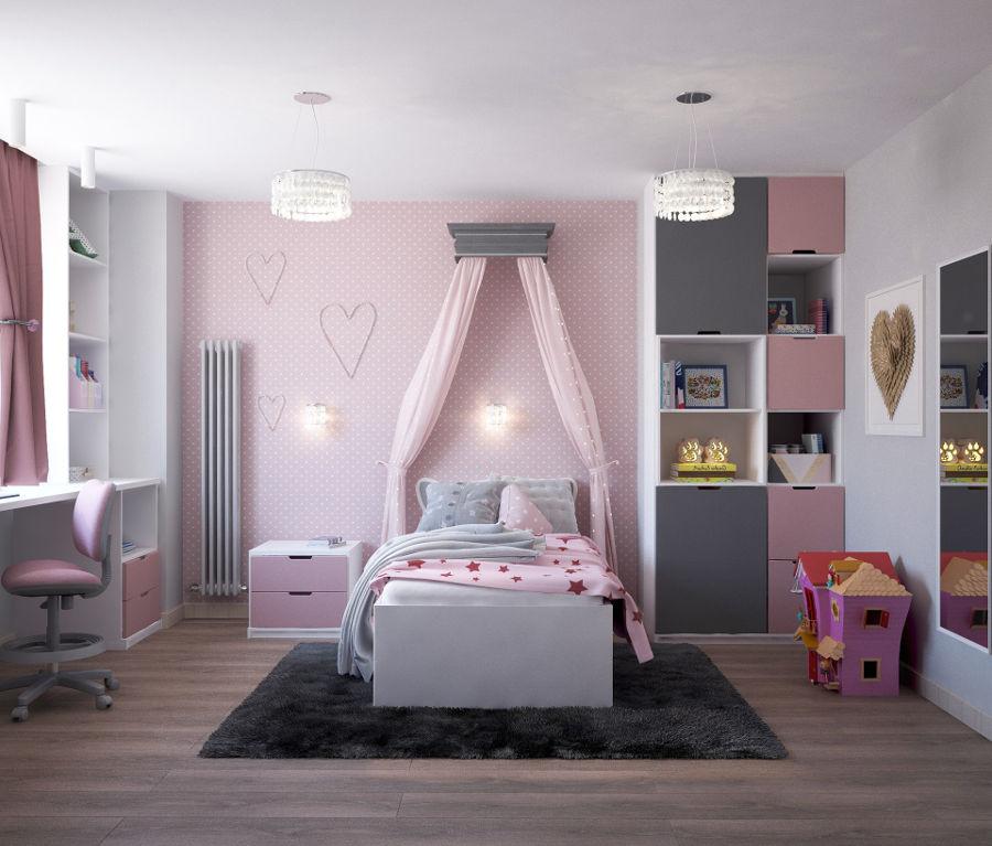 Pokój małej dziewczynki - co musi się w nim znaleźć